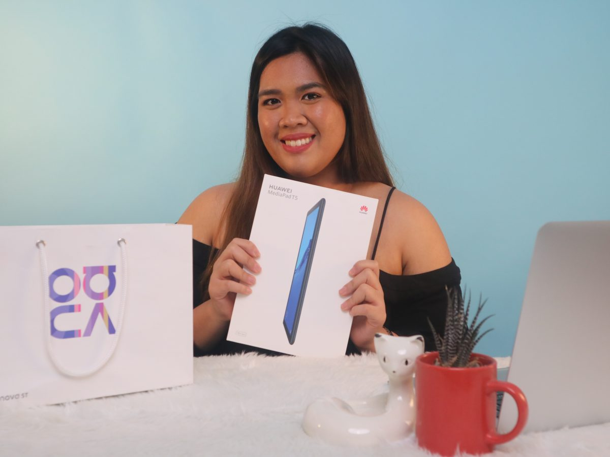 Lifestyle Blogger uses the Huawei Media T5