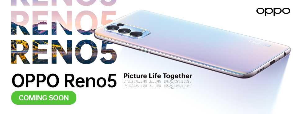 Watch out for the new OPPO RENO5 this coming February 2021