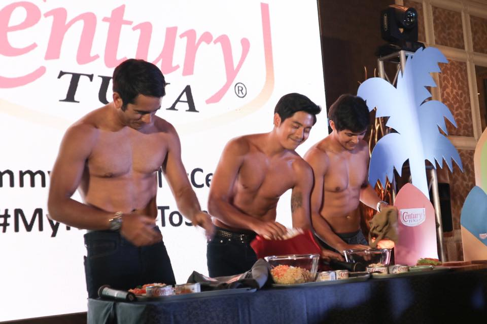 Yummy Bodies Ng Century: Gerald Anderson, Paulo Avelino and Mateo Guidicelli